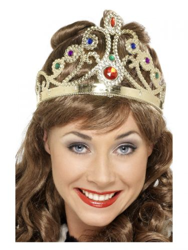 Jewelled Queen's Crown, Mixed Colours