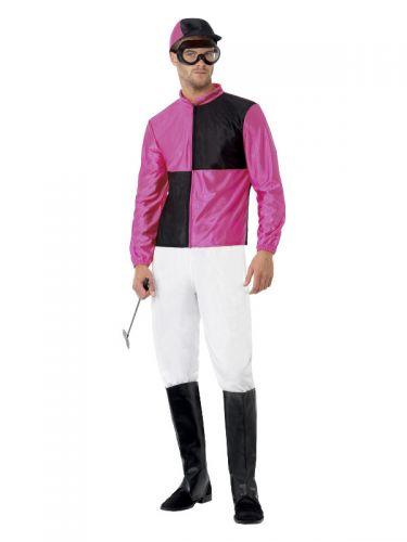 Jockey Costume, Pink & Black