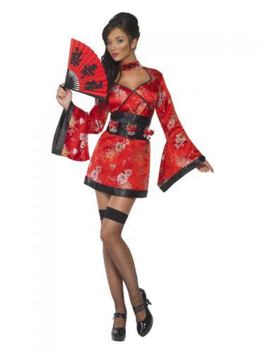 Vodka Geisha Costume, Red