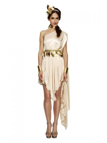 Fever Goddess Costume, Cream