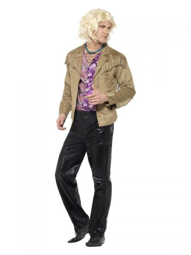 Zoolander Hansel Costume with, Brown