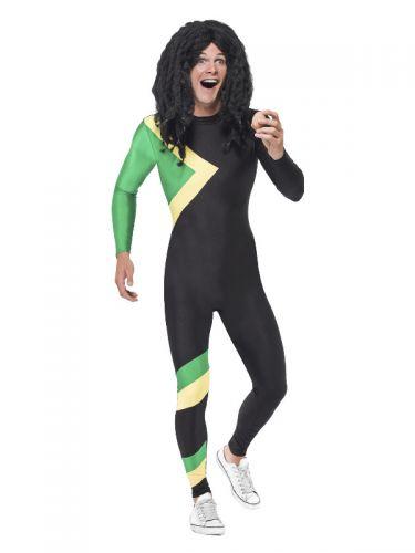 Jamaican Hero Costume, Black