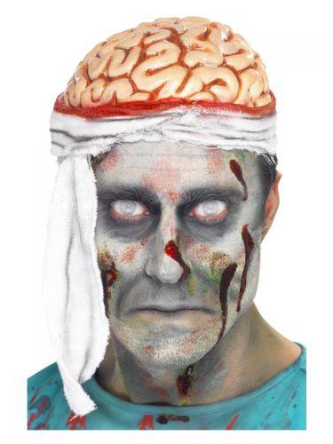 Bandage Brain Hat, Flesh