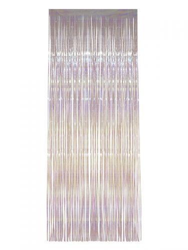 Shimmer Curtain, White