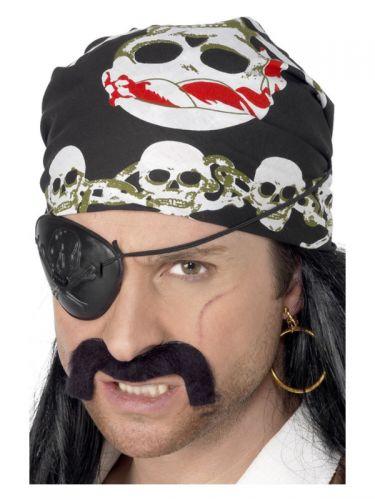Pirate Bandana, Black