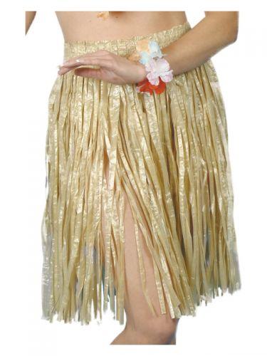 Hawaiian Hula Skirt, Yellow