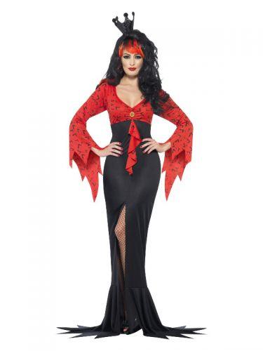 Evil Queen Costume, Red & Black