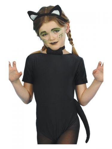 Cat Kit, Child, Black