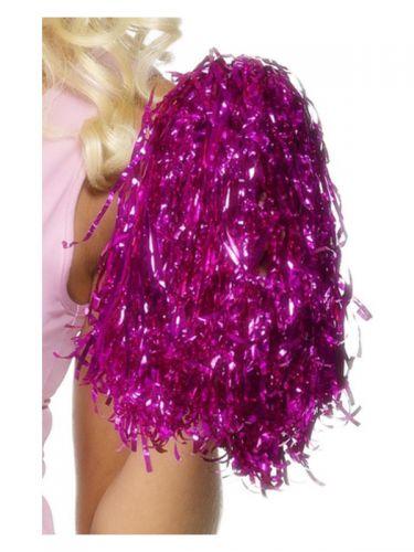 Pom Poms Metallic, Pink