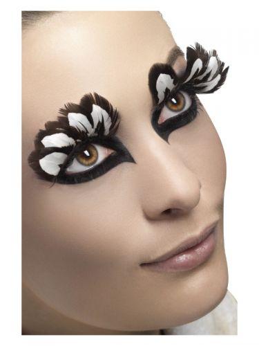 Eyelashes, Feather, Brown