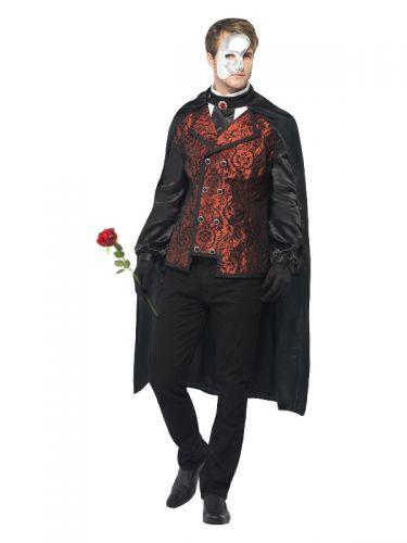 Dark Opera Masquerade Costume, Black