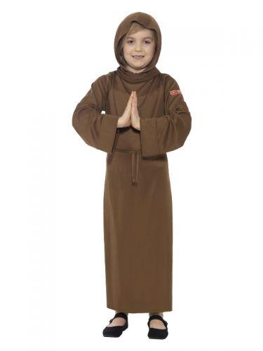 Horrible Histories Monk Costume, Brown