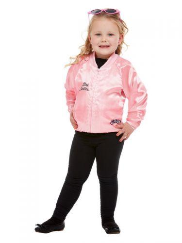 Grease Toddler Pink Ladies Jacket, Pink