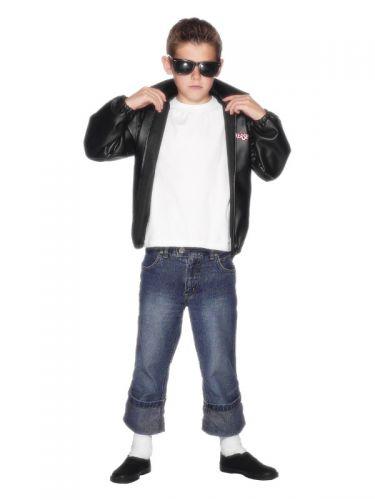 Grease Kids T-Birds Jacket, Black