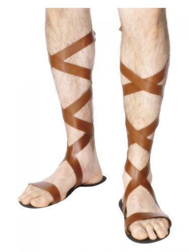 Roman Sandals, Brown