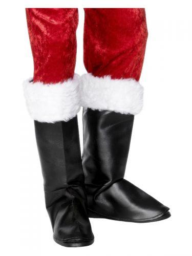 Santa Boot Covers, Black