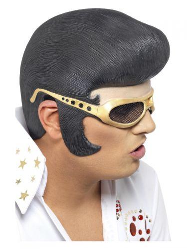 Elvis Headpiece, Black