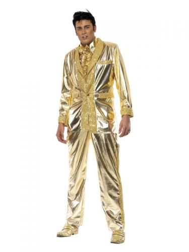 Elvis Costume, Gold