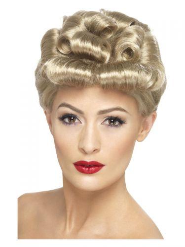 40s Vintage Wig, Blonde