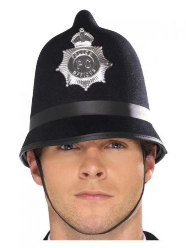 Police Hat, Black