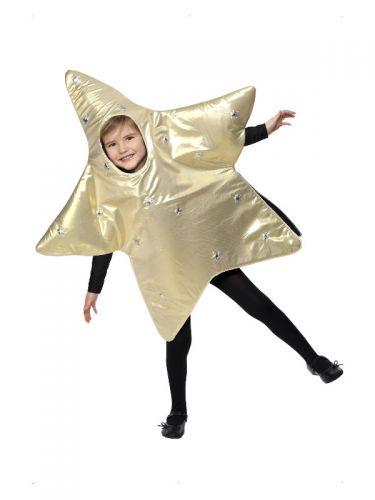 Christmas Star Costume, Gold