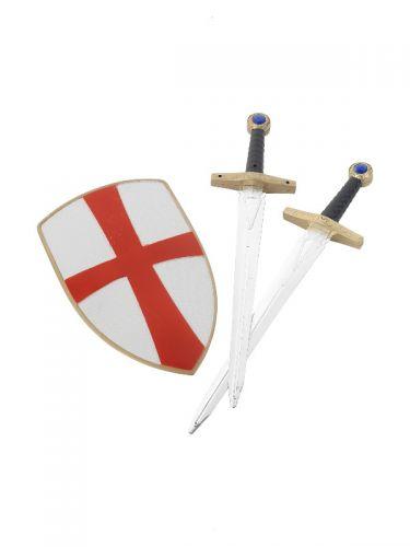 Knight Crusader Set, White