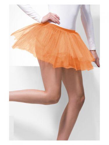 Tutu Underskirt, Neon Orange