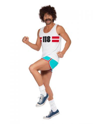 118118 Runner Costume, White