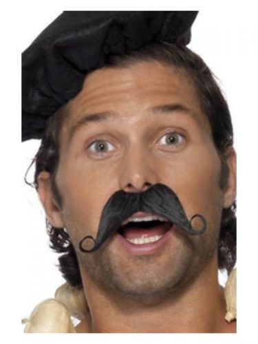 Frenchman Moustache, Black