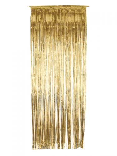 Shimmer Curtain, Gold