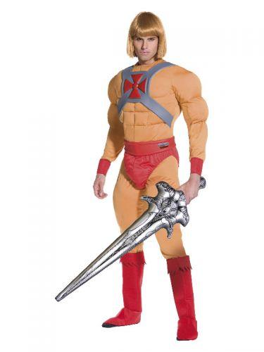 He-Man/Prince Adam Muscle Costume, Beige