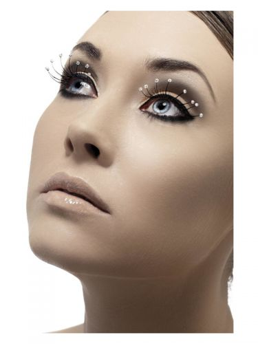 Eyelashes with Droplets, Black