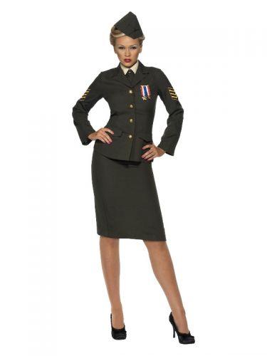 Wartime Officer Costume, Green