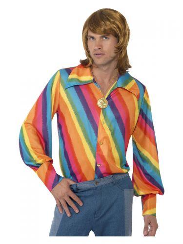 1970s Colour Shirt, Rainbow