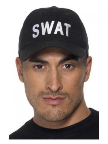 SWAT Baseball Cap, Black