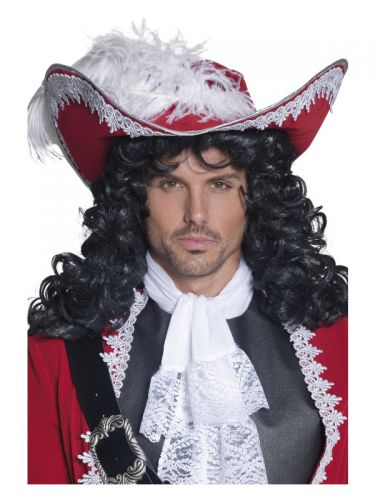 Authentic Pirate Hat, Red