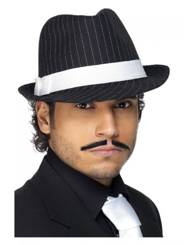 Deluxe Trilby Hat, Black