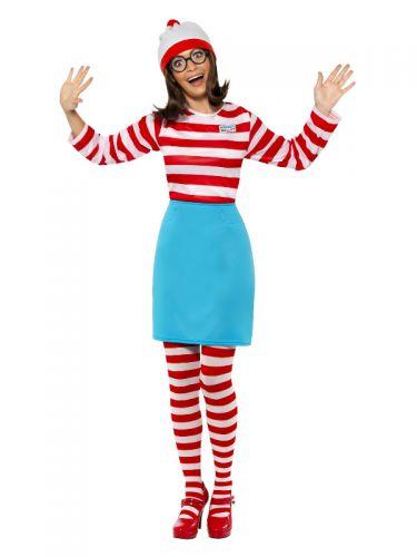 Where's Wally? Wenda Costume, Red & White