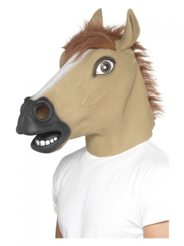 Horse Mask, Brown