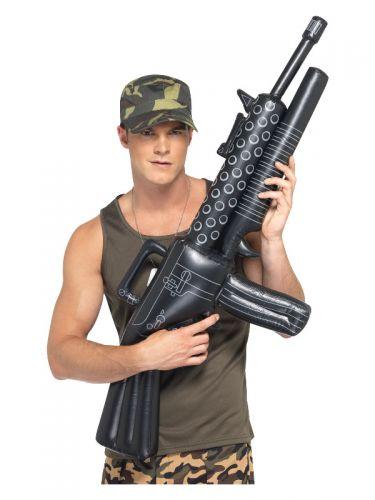 Inflatable Machine Gun, Black