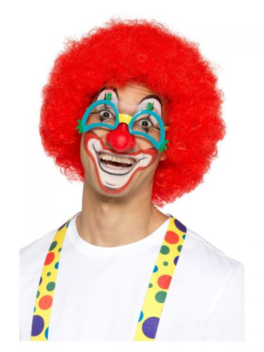 Comedy Clown Specs, Multi-Coloured