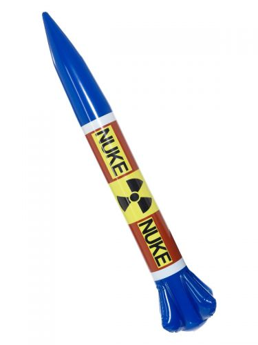 Inflatable Nuclear Missile, Multi-Coloured