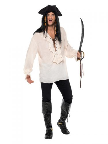 Pirate Shirt, Ivory