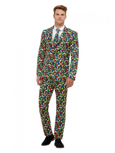 Rubik's Cube Suit, Multi-Coloured