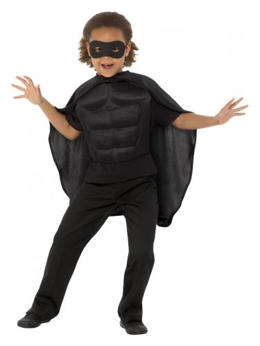 Kids Superhero Kit, Black
