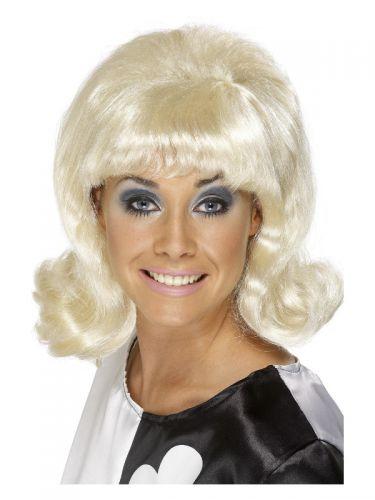 60s Flick-Up Wig, Blonde