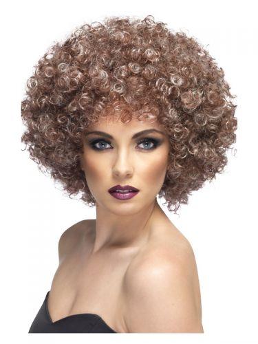 Afro Wig, Blonde & Brown