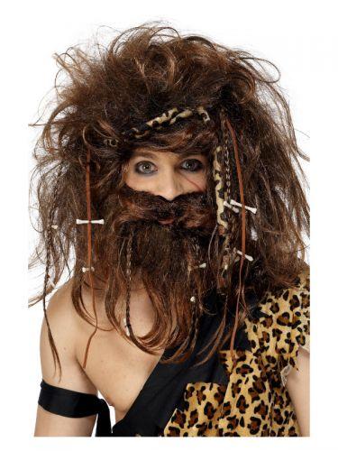 Crazy Caveman Set, Brown