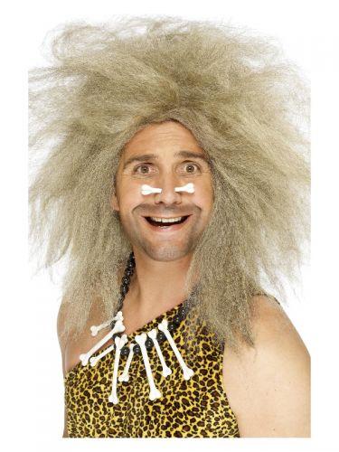Crazy Caveman Wig, Blonde