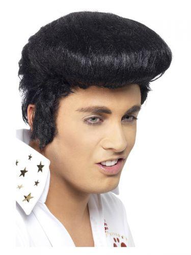 Elvis Deluxe Wig, Black